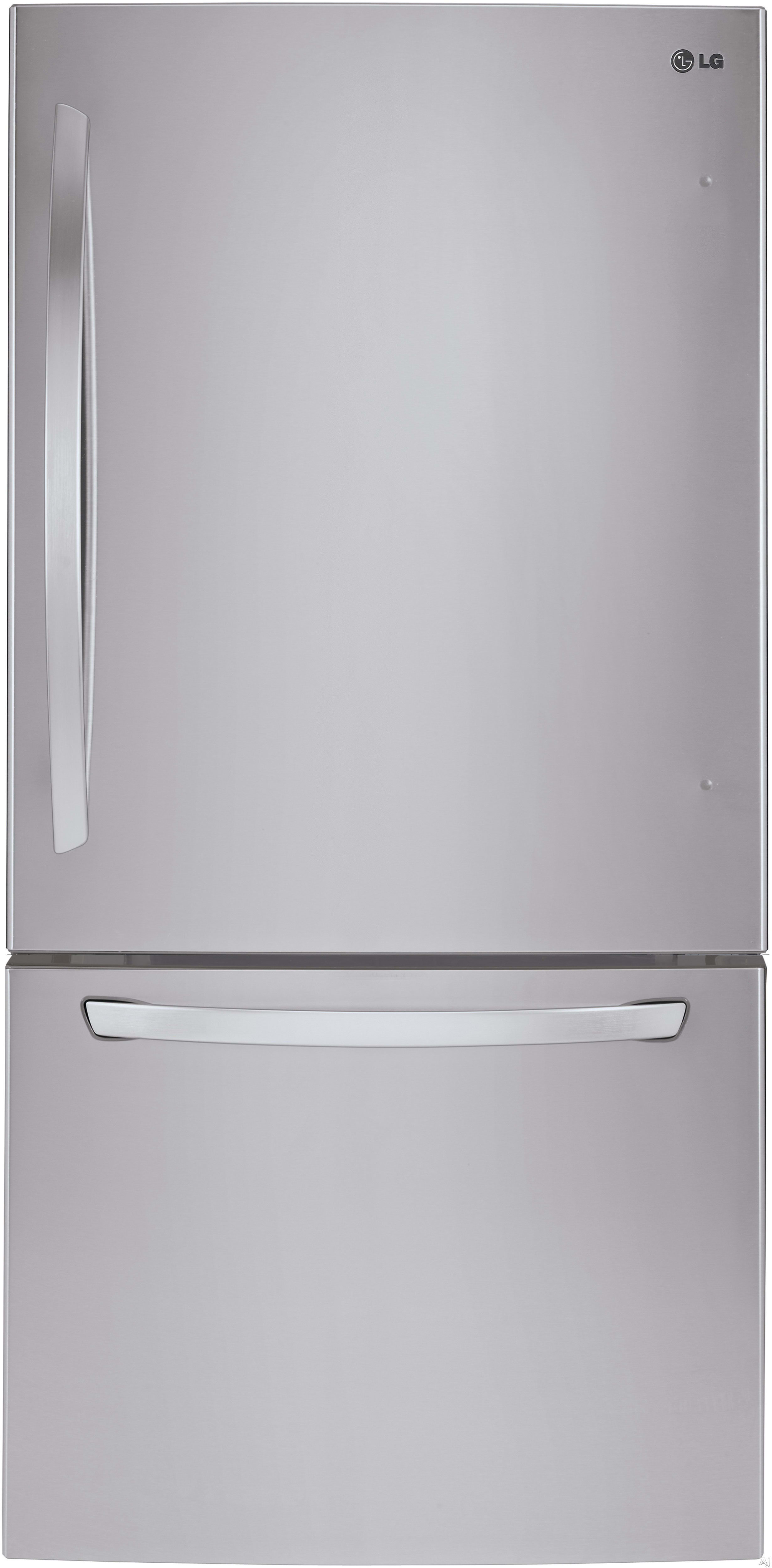 The LG LDCS24223S is the stainless steel version of this 24-cu.-ft. fridge.