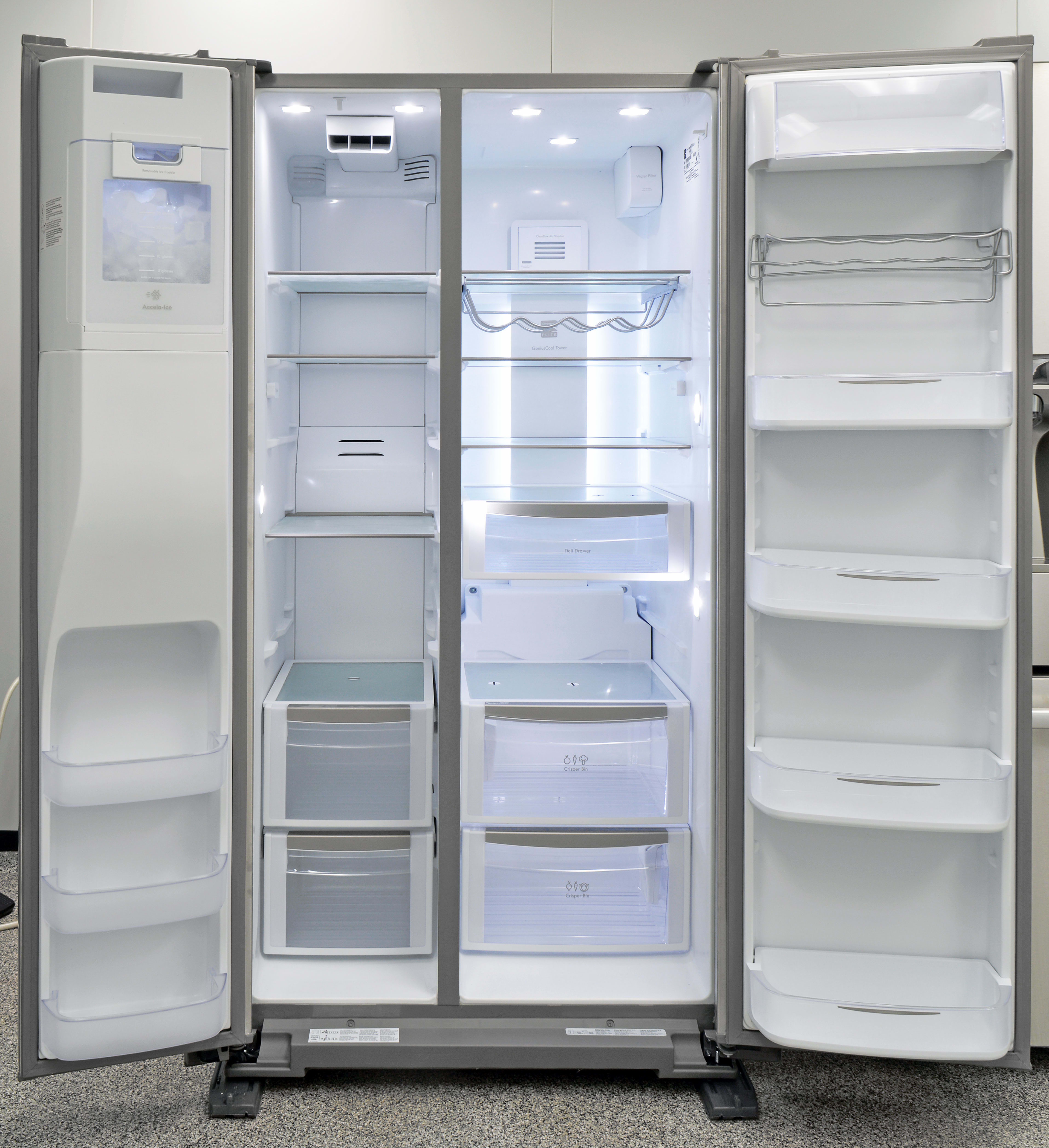 The Kenmore Elite 51773 has lots of lights, lots of shelves, and lots of space.