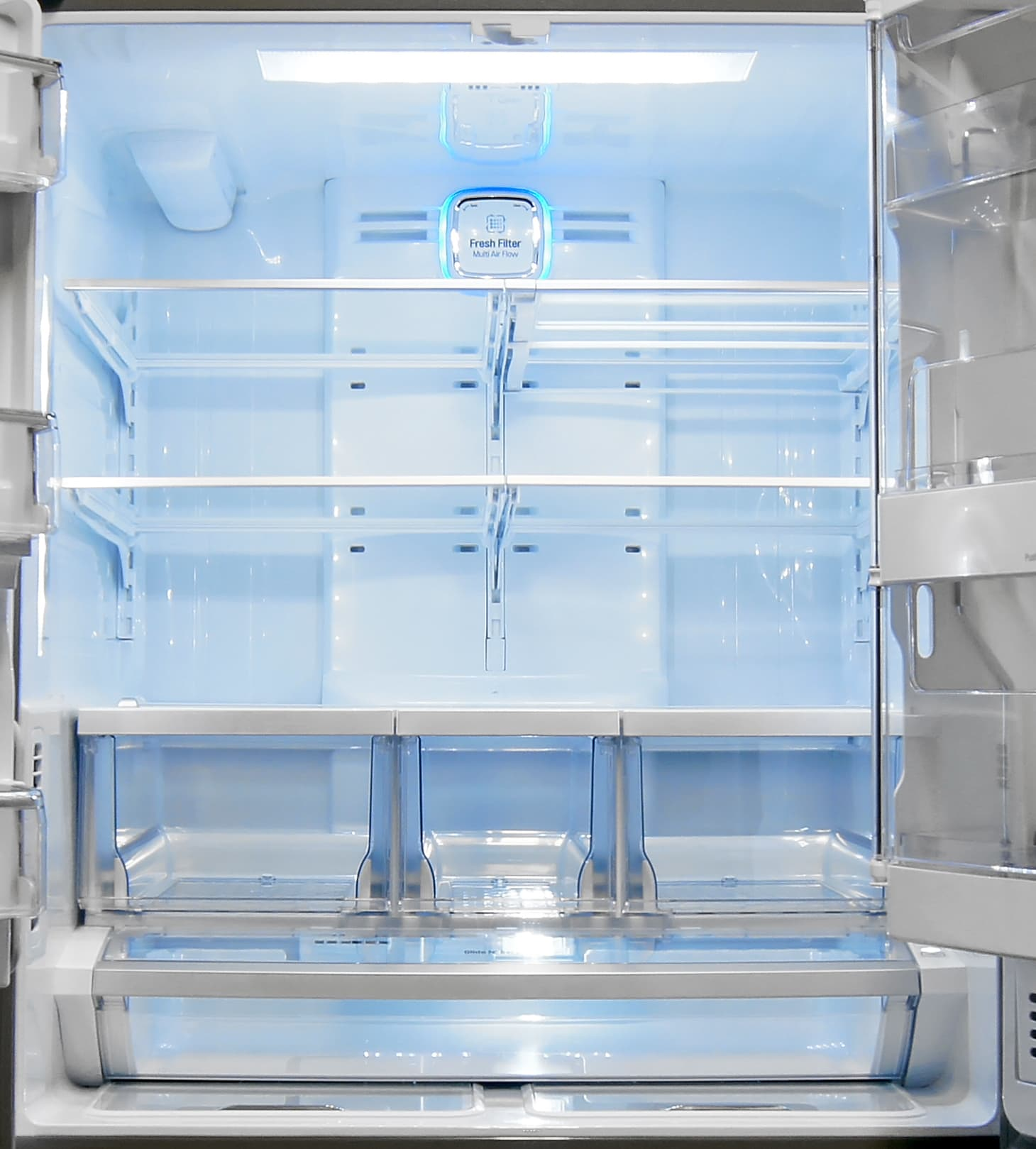 Lots of storage compartments in the LG LFX32945ST allow you to really customize your food storage.