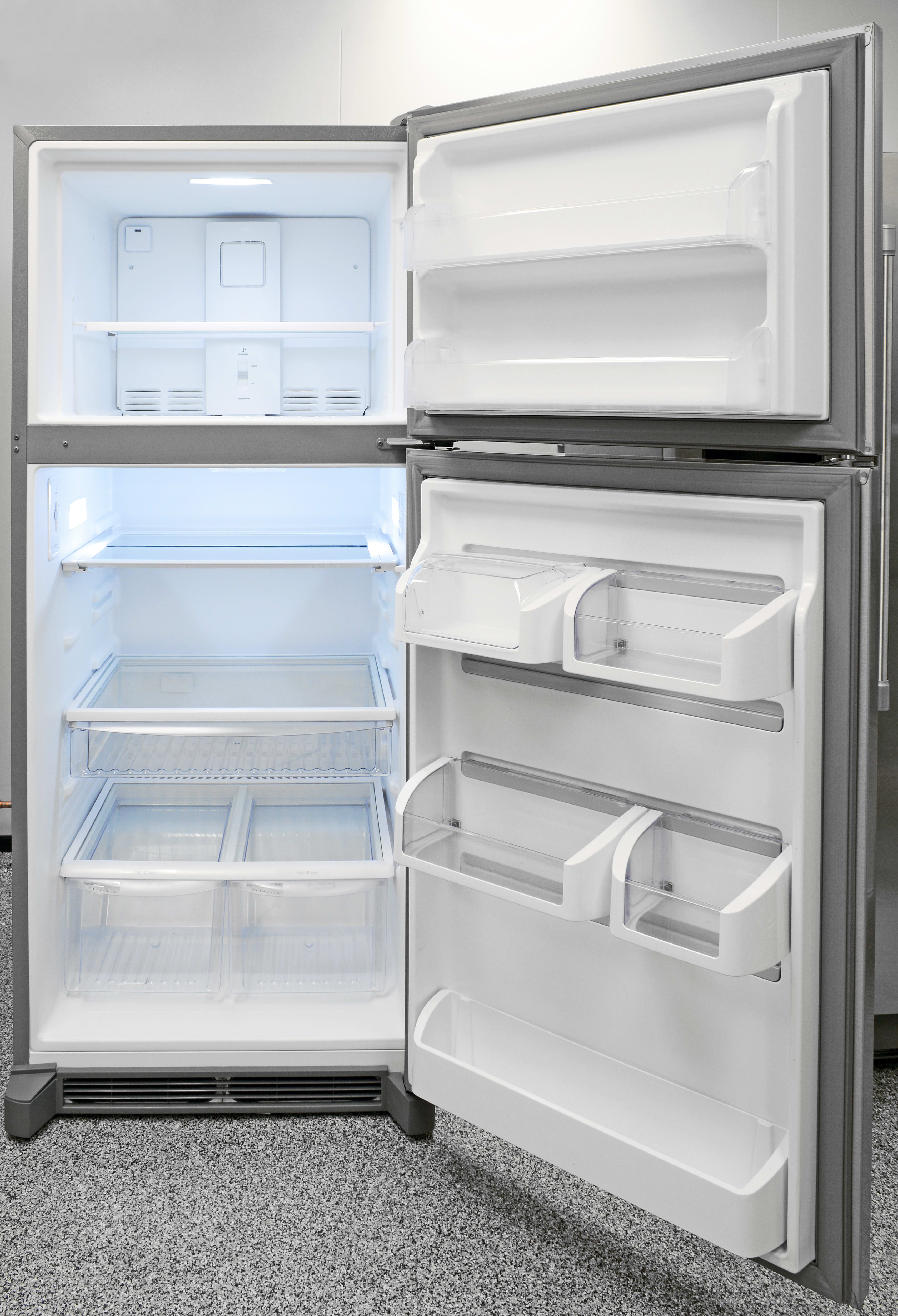 The Frigidaire Gallery FGHT2046QF's LED lights go a long way in adding to a higher-end aesthetic.