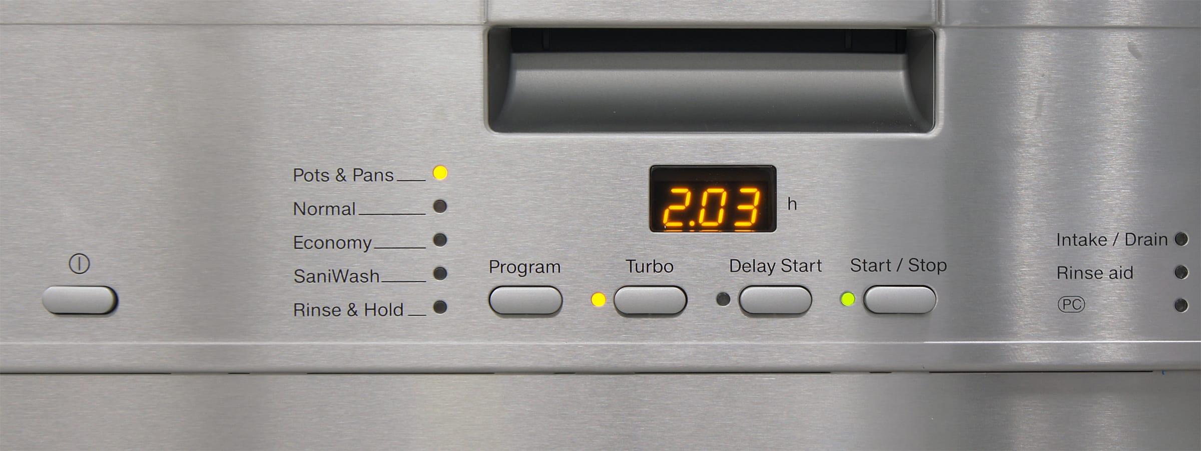 Miele G4225SCU controls