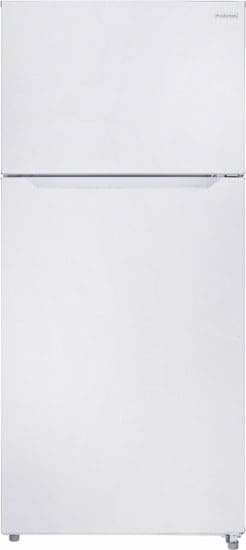 The basic white version is one of the cheapest 18-cu.-ft. fridges available.