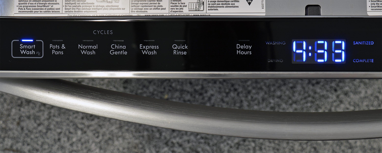 Kenmore Elite 14793 wash cycle controls