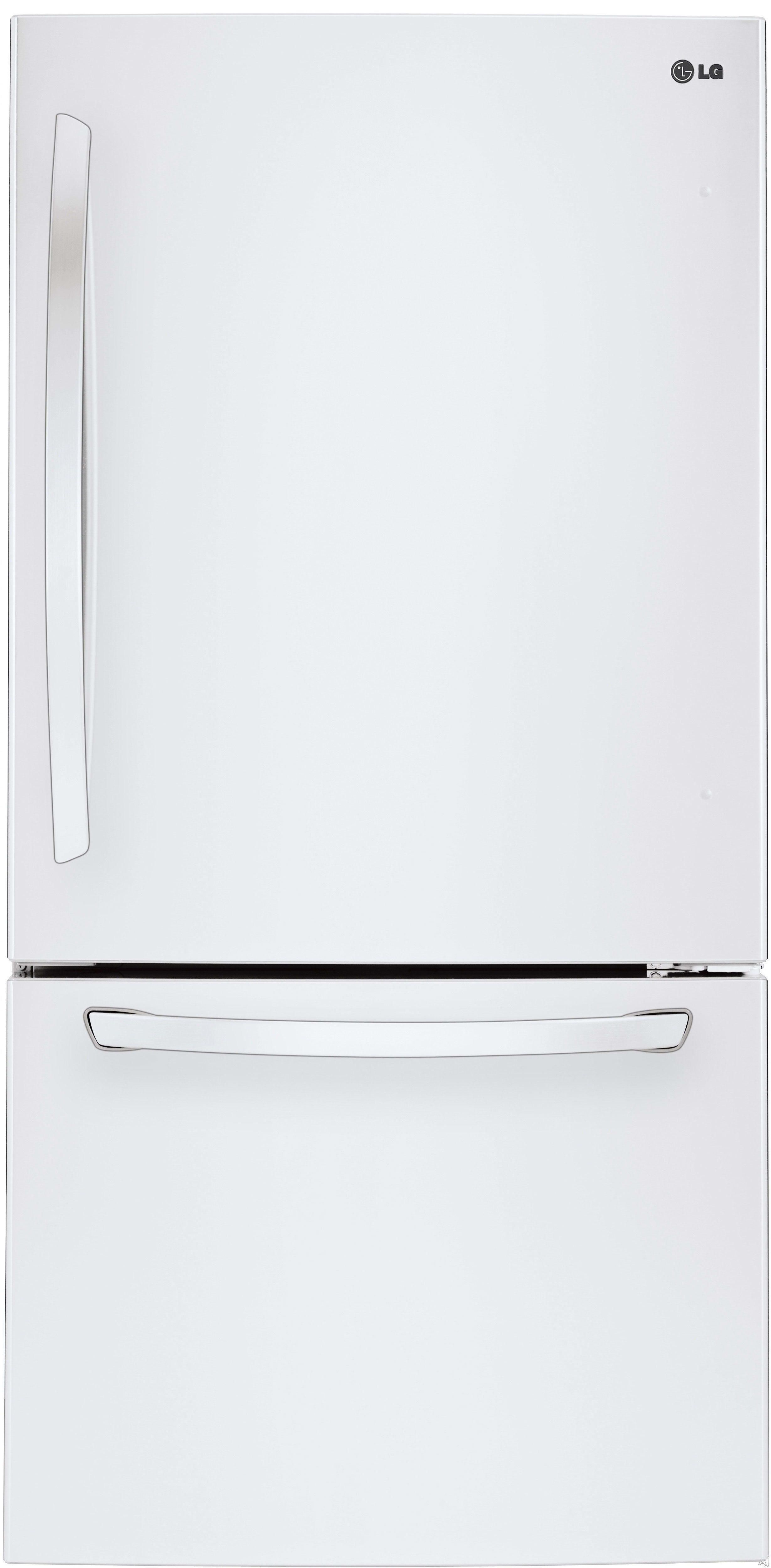 If stainless isn't your thing, the LG LDCS24223W is the same fridge with a smooth white finish.