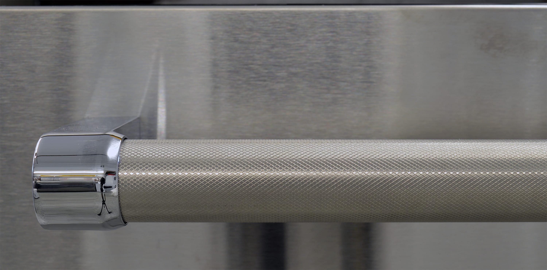 KitchenAid KDTM704ESS knurled handlebar