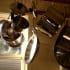 Hanging pots pans kitchen storage tips hero flickr colleenmorgan