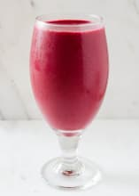Red beet smoothie