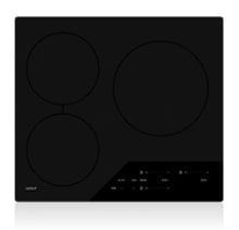 The Wolf CI243C/B 24-inch induction cooktop