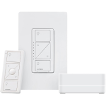 Lutron p bdg pkg1w caseta wireless smart lighting starter kit