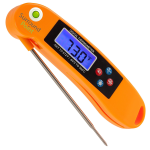 Surround point talking instant read thermometer