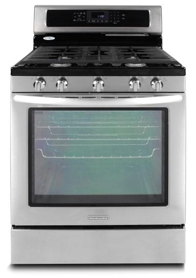 kitchenaid architect series ii kgrs303bss gas range review
