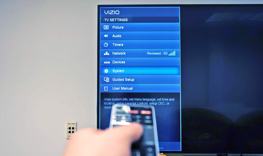 Updating software on vizio tv