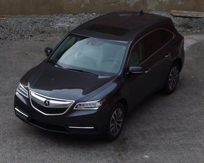 image upcoming luxury acura spied van s minivan