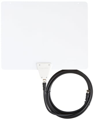 Product Image - AmazonBasics Ultra Thin Indoor TV Antenna, 35 Mile