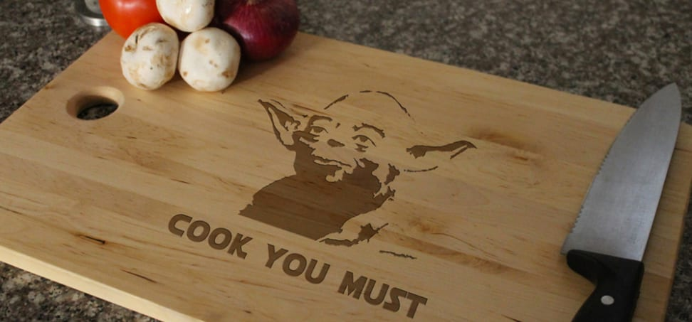 May the Fourth be with you (in the kitchen).