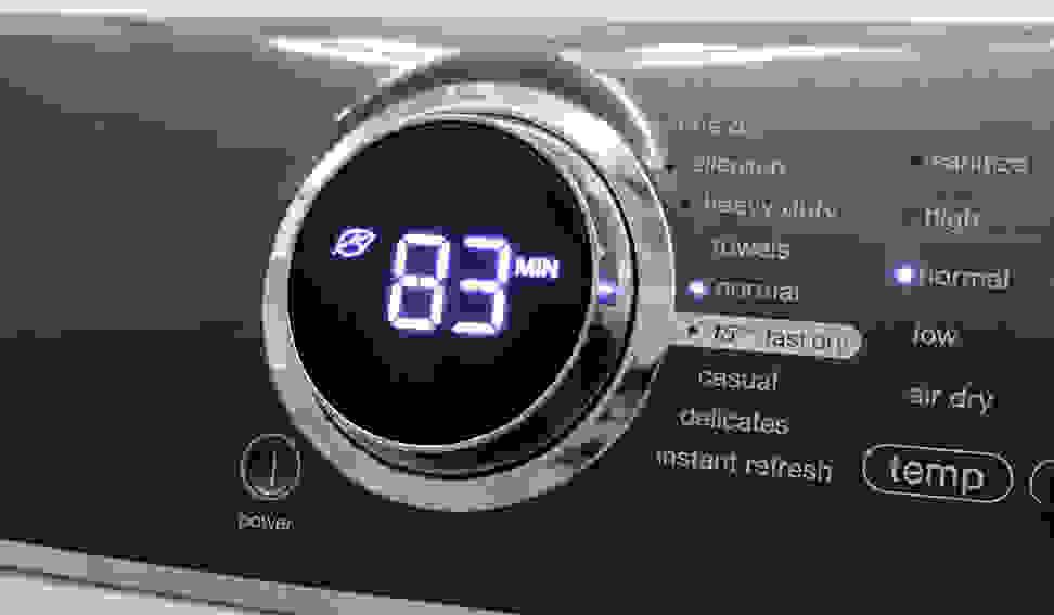 Electrolux EFME617SIW Cycles