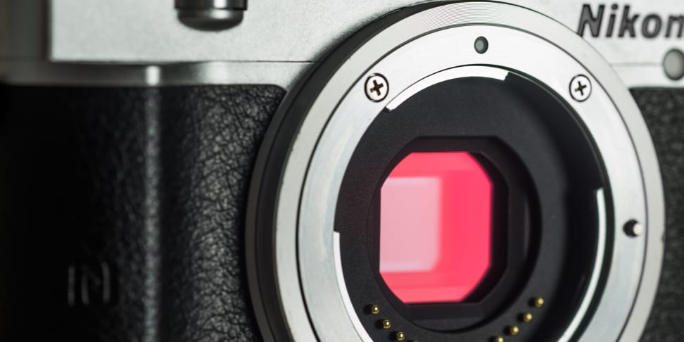 The Nikon 1 J5 is a speed demon that can fit in the palm of your hand.
