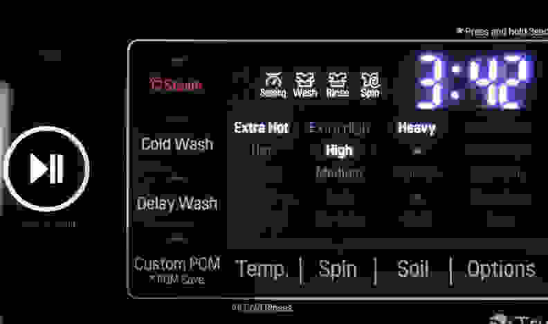 Load sense allows a washer to adjust cycle times based on changing conditions.