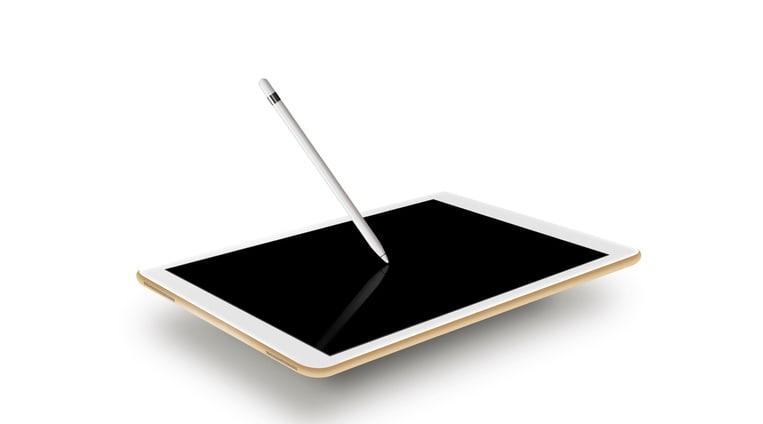 Apple Pencil with iPad