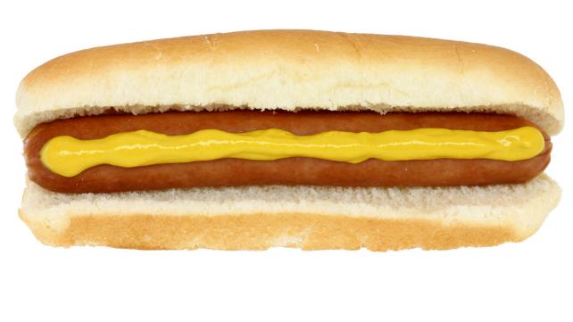 Footlong hot dog