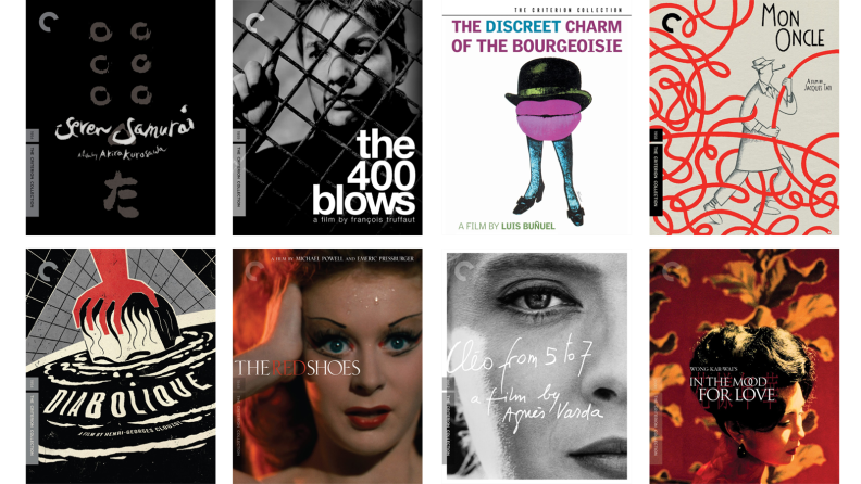 Eight Criterion collection movies