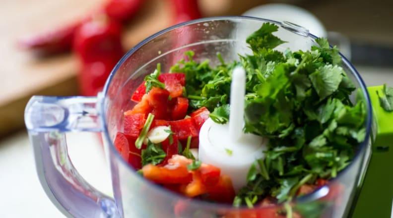 Holiday Dinner: Food Processor