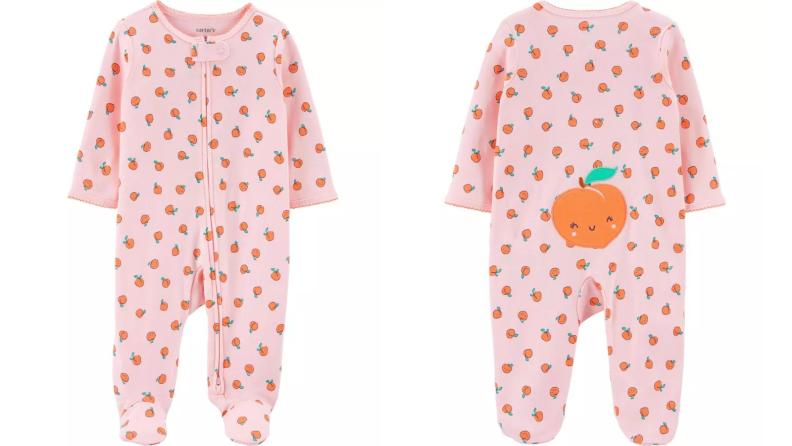 Peach onesie