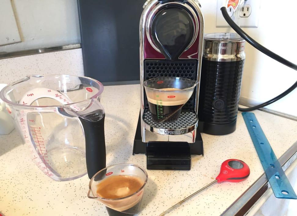 Nespresso Citiz in testing