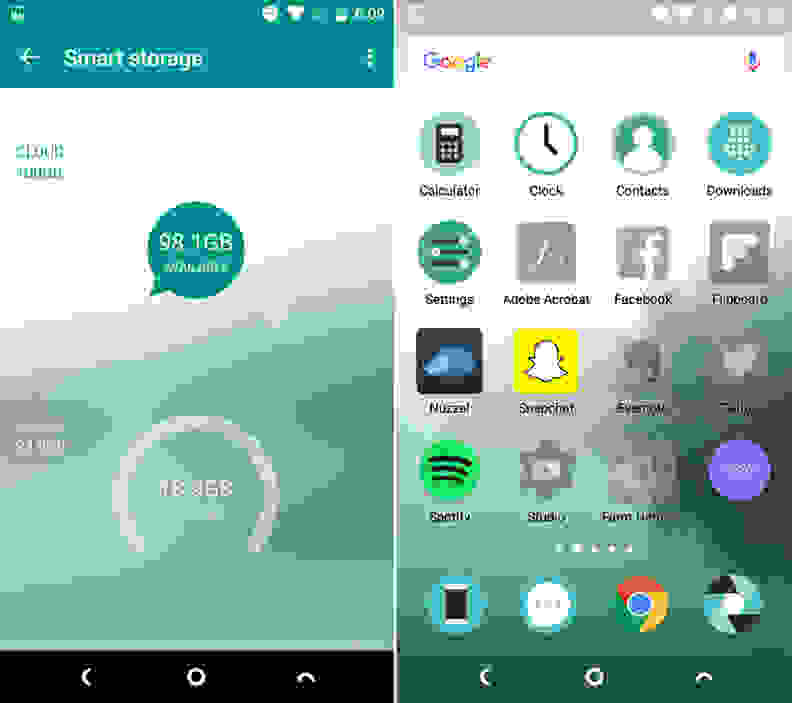 Nextbit Robin Storage Screenshots