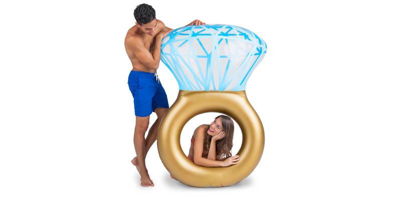Bling Ring Pool Float