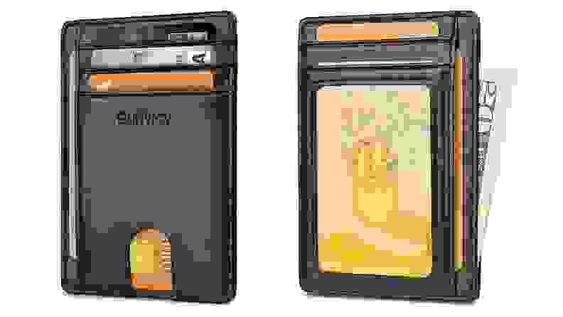 Buffway Slim Minimalist Front Pocket Wallet