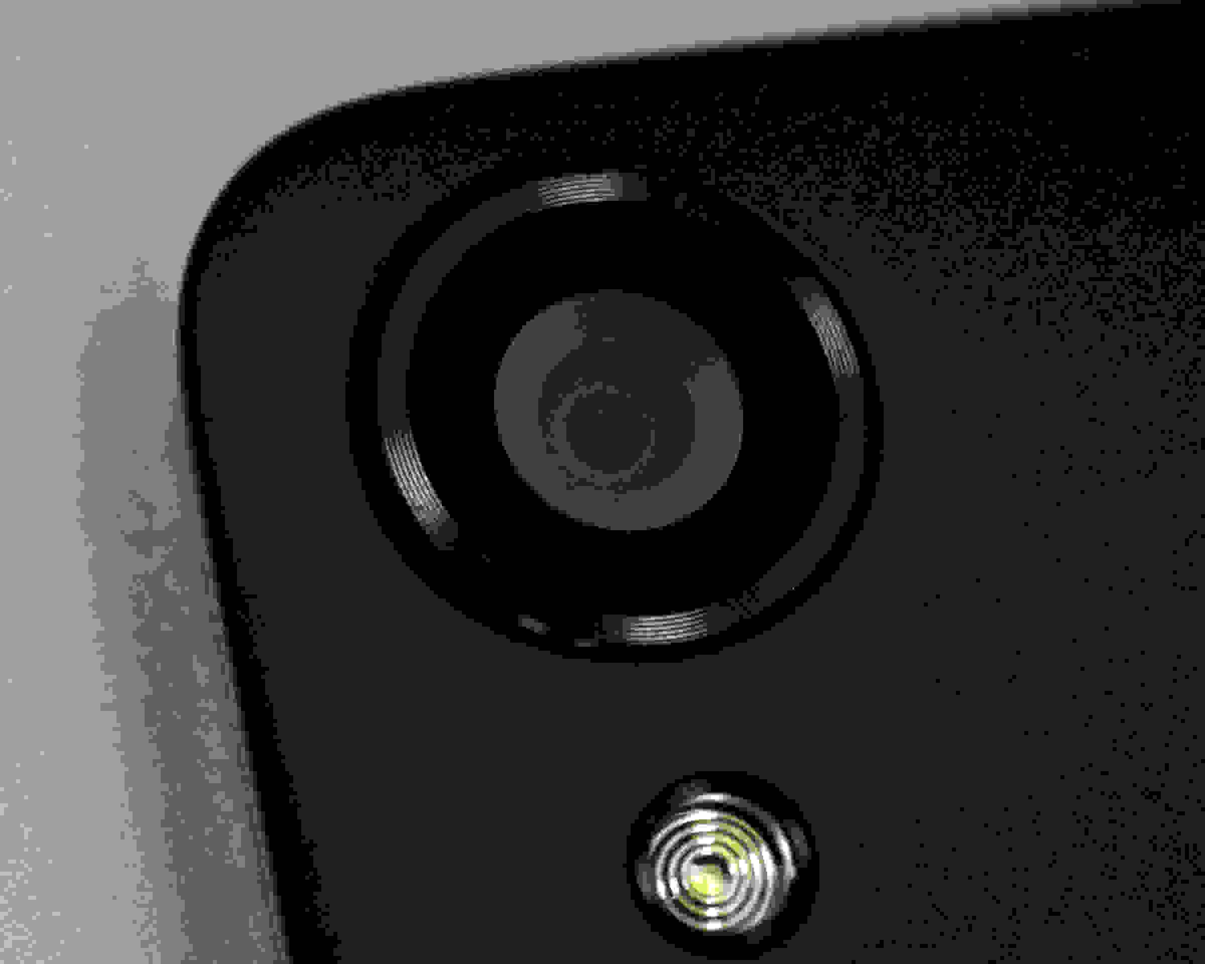 A photo of the Google Nexus 9's rear camera.