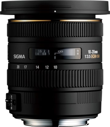 Product Image - Sigma 10-20mm f/3.5 EX DC HSM