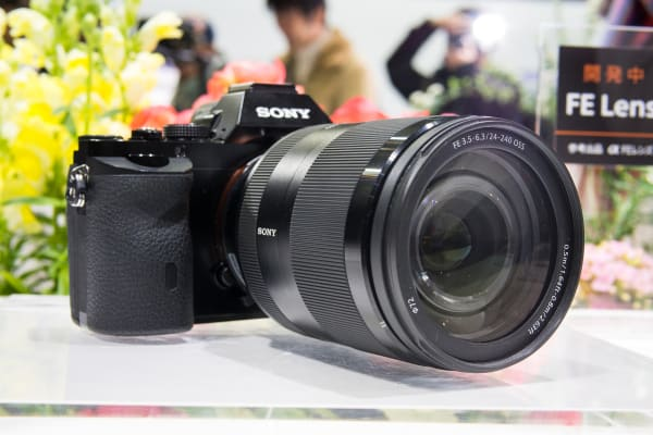 Sony 24–240mm in profile