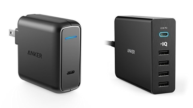 Anker USB-C Wall Adapters