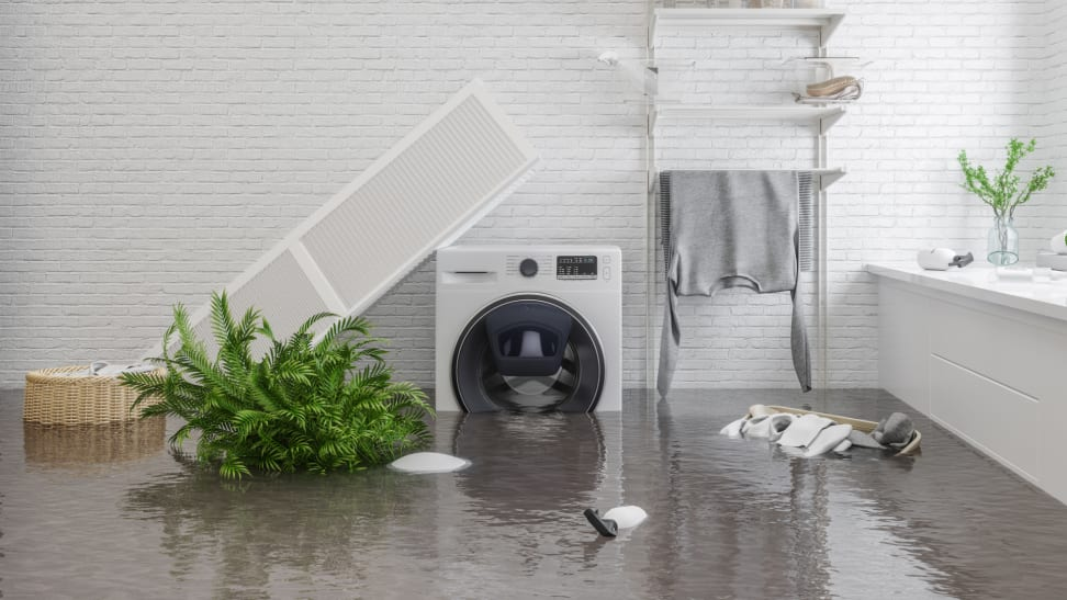Don't let your appliances get caught in a flooded basement