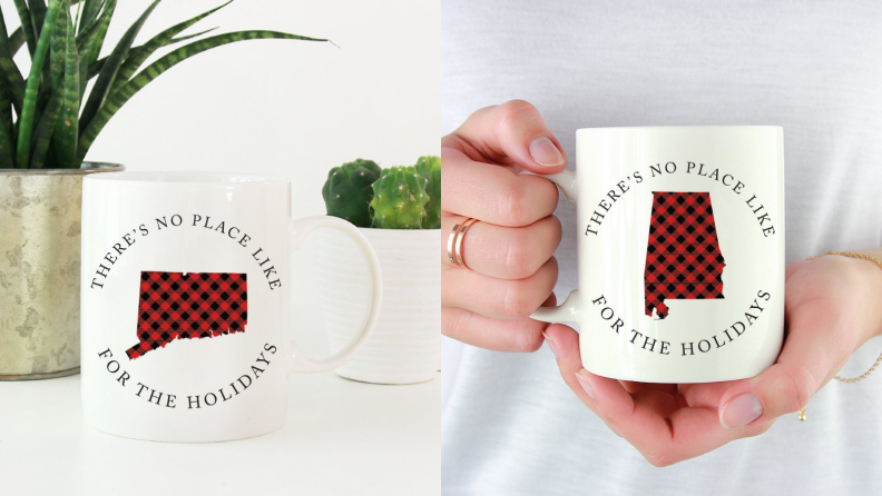 Bring this mug with you in case you miss home.