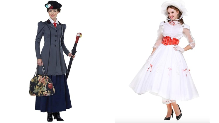 """Kids Fancy Dress World Book Day MARY POPPINS NANNY AGE 7-8 Fits up to 30/"""" chest"""