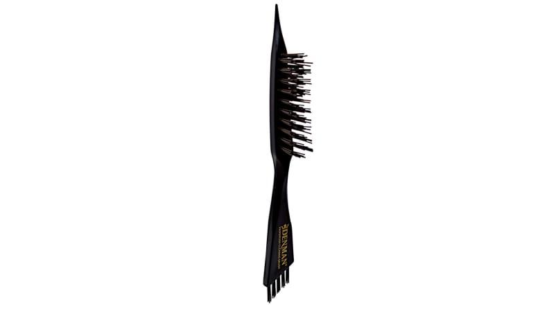 hairbrush cleaner tool on white background