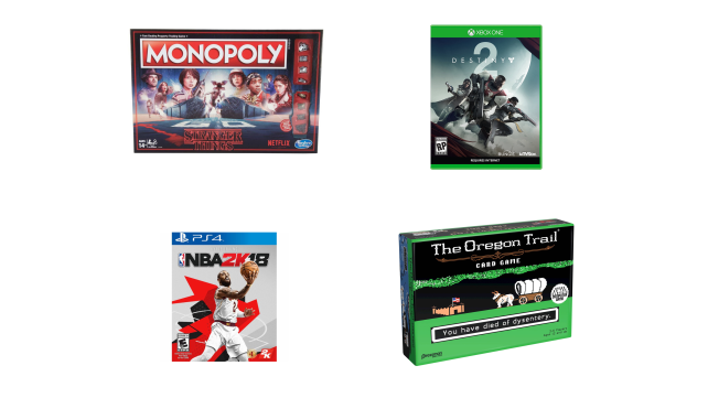 Board and Video Games on sale at Target