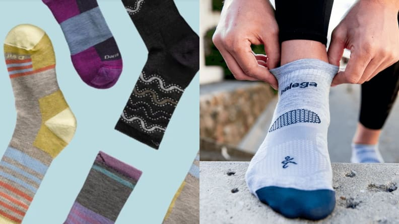 sweat-wicking socks