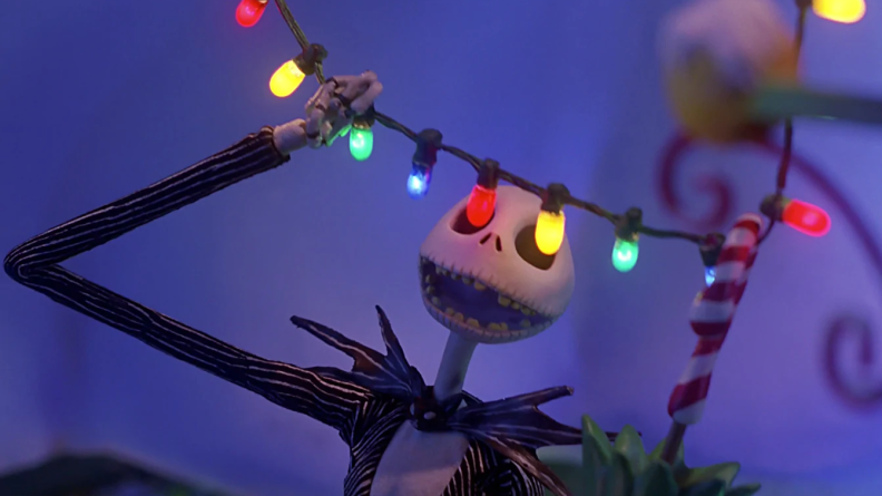 Danny Elfman lends his singing voice to the character of Jack Skellington.
