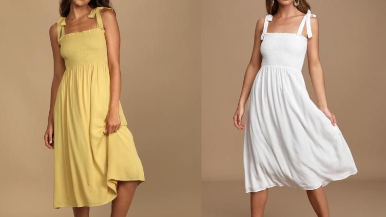Lulus Nap Dress