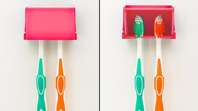 Camco A Pop-A-Toothbrush Wall Mounted Holder