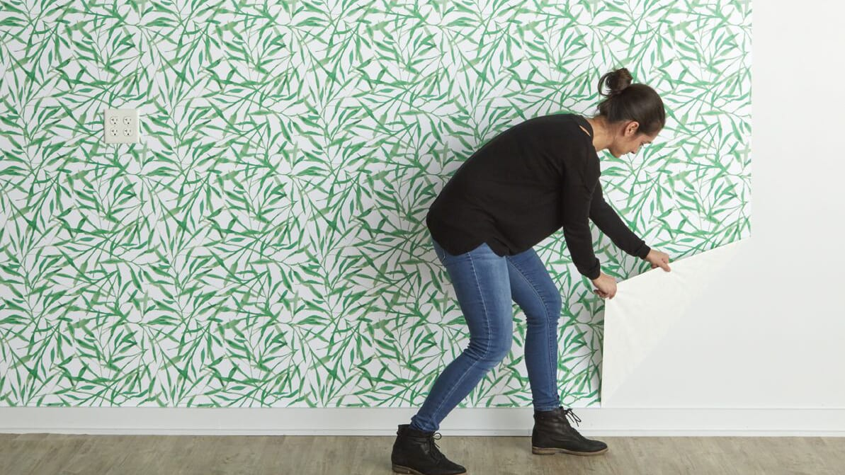 How To Hang Peel And Stick Removable Wallpaper In Your Home