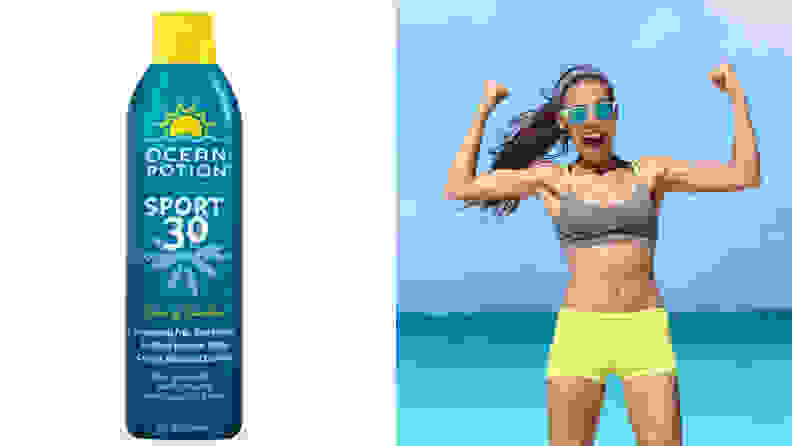 Cooling sunscreen available on Amazon