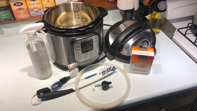 What you need to clean the instant pot