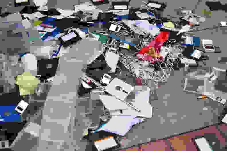Discarded Floppy Disc