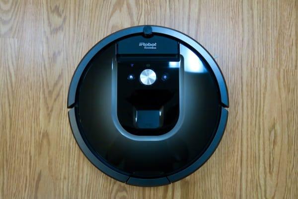 iRobot Roomba 980 top view