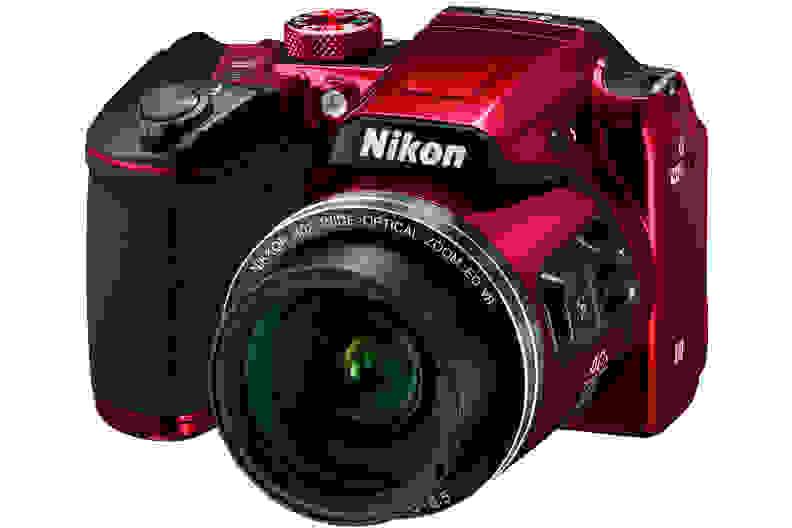 A manufacturer render of the Nikon Coolpix B500.